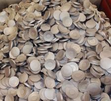 Manufactura de tejos para la fabricación de envases de aluminio por extrusión por impacto