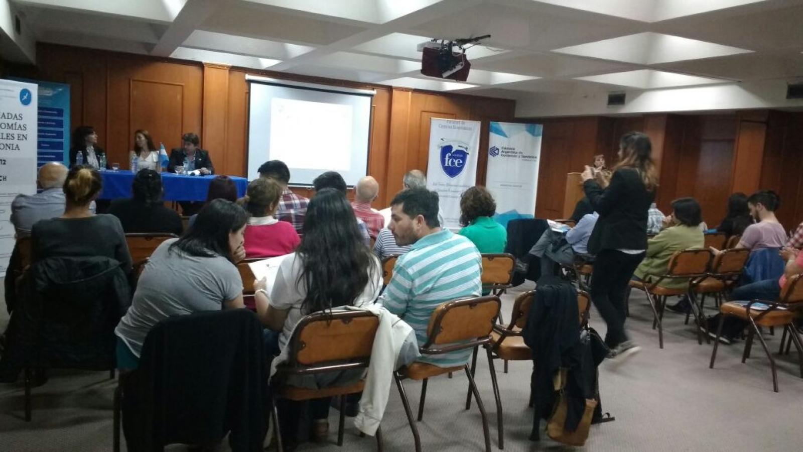 Las Jornadas organizadas por la Facultad de Ciencias  Económicas de la UNPSJB de Trelew se llevan a cabo por tercer año consecutivo.  Desarrollado los días 30/11 y 01/12 tuvo como ámbito el auditorio de la CICECH.