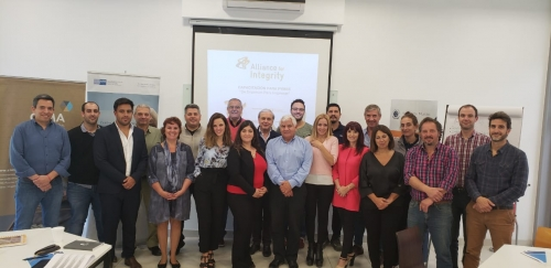 Presentacion exitosa del Taller Etica y Compliance  de la AHK