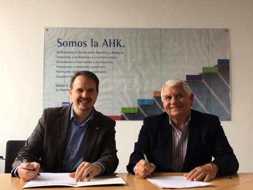 CIMA firmó un acuerdo de cooperación con la AHK.