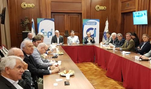 CIMA formo parte de una nueva reunión del Comité Industrial de CAME