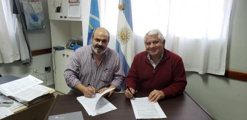 CIMA firmó un convenio con el Centro de Formación  Profesional Nro 651