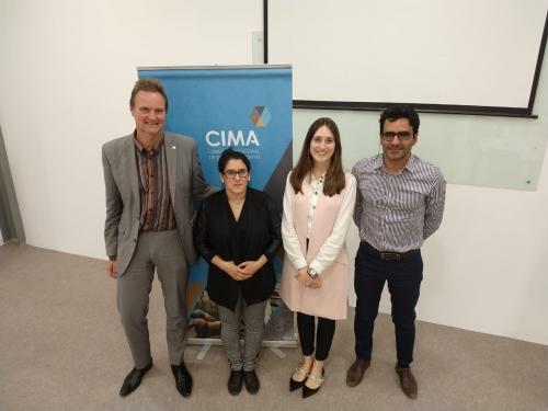 Se realizó la presentación de Senior Experten Service de la Fundación de la Industria Alemana para la Cooperación Internacional en CIMA