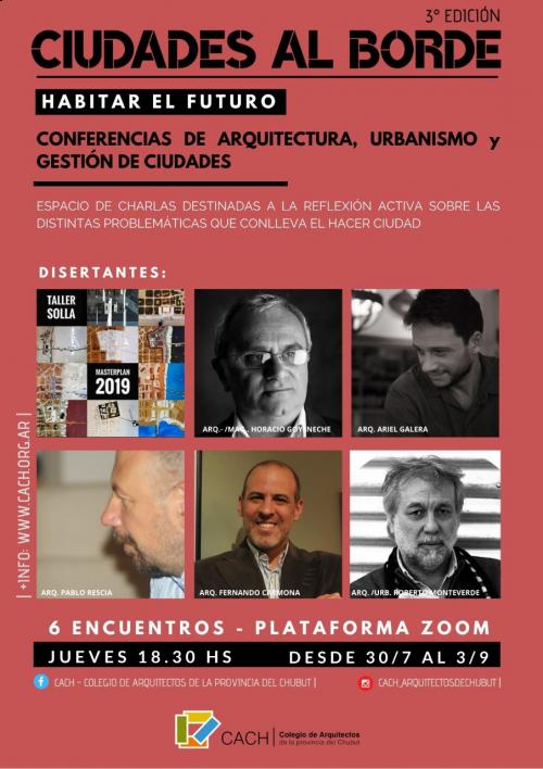 CIUDADES AL BORDE III - Ciclo de conferencias de Arquitectura, Urbanismo y Gestión de Ciudades.