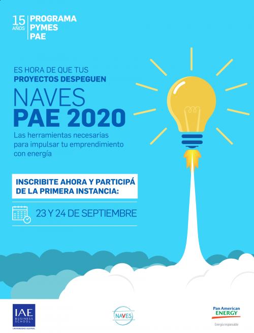 PROGRAMA NAVES PAE 2020