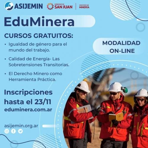 EDUMINERA - Cursos Gratuitos
