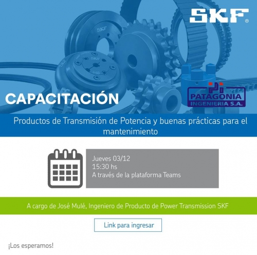 CAPACITACITACIÓN: Productos de Transmisión de Potencia y buenas prácticas para el mantenimiento