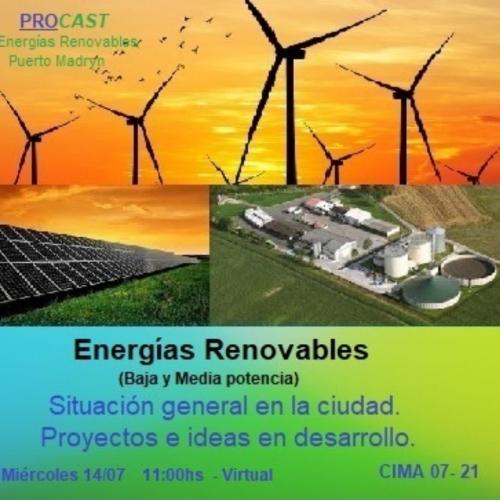 Charla: Energías Renovables (Baja y Media potencia)